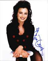 Fran Drescher authentic signed celebrity 8x10 W/Certificate Autographed (A0001)