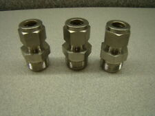 """Swagelok Reducer Fitting, 1/2"""" x 3/8"""", QTY OF 3"""