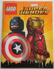 SDCC 2016 Exclusive LEGO MARVEL Super Heroes Comic Book With IRON MAN Poster
