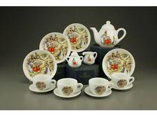 Reutter Porcelain Beatrix Potter Children`s Miniature Tea Set in box  23162