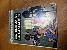Tintin  Les Bijoux de la Castafiore EO Belge B34 1963 Casterman