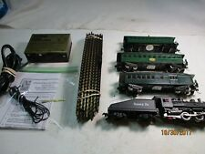 OLD TYME SANTA FE PASSENGER  TRAIN.  H.O COMPLETE SET READY TO RUN . EXCELLENT