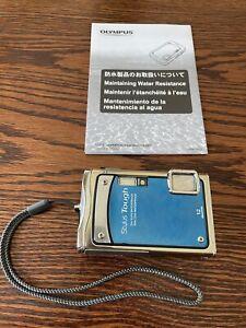 Olympus Stylus Tough 8000 12.0MP Digital Camera - Blue