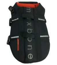 Max Bone Dog Life Jacket Size Large Black - New Free Shipping!