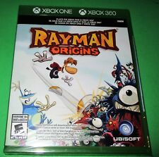 Rayman Origins Xbox One + Xbox 360! *New! *Sealed! *Free Shipping!