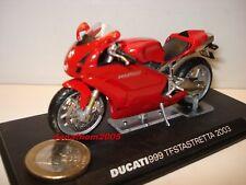 MOTO DUCATI 999 TESTASTRETTA 2003 au 1/24°