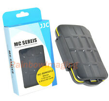 """JJC Anti-shock Memory Card Case for 4 x SD & 8 x Micro SD cards """"US Seller"""""""