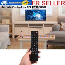 Remplacement de télécommande noire pour le téléviseur TCL RC3000E02