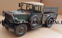 DODGE M37 ARMY TRUCK tin plate toy tinplate car blechmodell auto handmade
