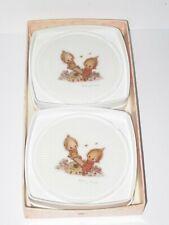 Vintage Hallmark Betsey Clark Plastic Drink Coasters New old stock