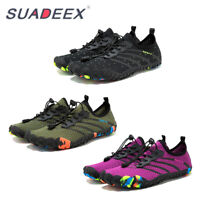 Mens Barefoot Water Aqua Shoes Wide Toe Hiking Quick Dry Surf River Beach Shoes