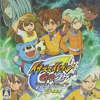 USED 3DS Inazuma Eleven GO2 Chrono Stone thunder no benefits 60412 JAPAN IMPORT
