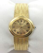 Vintage 18K Yellow Gold Piaget Ladies Watch