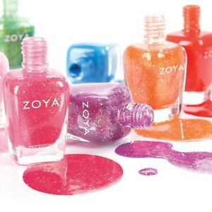 Zoya Tickled & Bubbly Collections Nail Polish Choose Your Colors!