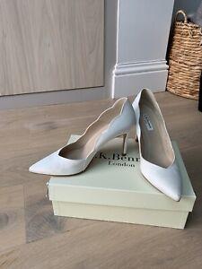 Lk Bennet Wedding Bridal Osposa Shoes Size 6 39
