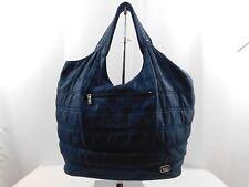 LUG Travel Large Handbag Purse Shoulder Bag Navy Blue