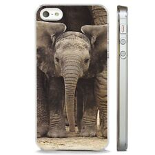 Baby Elephant Big Ears Dumbo CLEAR PHONE CASE COVER fits iPHONE 5 6 7 8 X