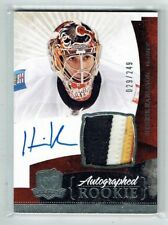 10-11 UD The Cup  Henrik Karlsson  /249  Auto  Patch  Rookie