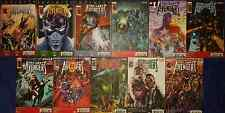 LOT UNCANNY AVENGERS 1 2 3 4 5 6 7 8 9 10 11 IRON MAN THOR PANINI SERIE COMPLETE