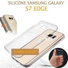 Housse coque transparent gel silicone souple samsung galaxy S7 EDGE