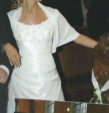 Brautkleid~ Gr.34~ Champagner~La Sposa~~ (Für kleine Personen bis 1,60m)