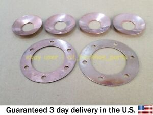 JCB BACKHOE - DIFF. GEAR SET THRUST WASHERS (PART NO. 808/00209 & 808/00210)