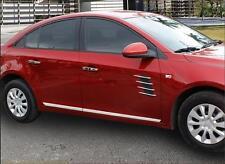 Stainless Steel Body Door Side Molding Trim Chrome For Chevrolet Cruze 2009-2014