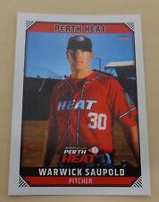 Warwick Saupold 2018 Aussie Baseball -Perth Heat - Detroit Tigers -Hanwha Eagles