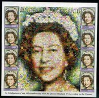 Dominica Kleinbogen MiNr. 3234 postfrisch MNH Queen Elizabeth II. (GG74