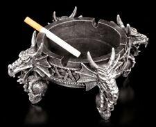 Drachenaschenbecher - vier Drachen - Dragon Ashtray Deko Figur Ascher
