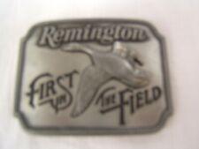 "Remington ""Canada Goose"" Belt Buckle 1980 Free Shipping VGC"
