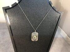 "Free Mason Shriner Emblem On 18"" Sterling Silver Chain"