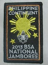 National Jamboree 2013 Philippine Contingent Rectangular Pocket Patch  BSA
