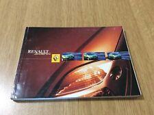 Renault SCENIC Libretto Istruzioni Manuale Uso E Manutenzione Ediz. 08.2001