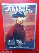 walker texas ranger disco n.6 quarta stagione chuck norris arti marziali film gq