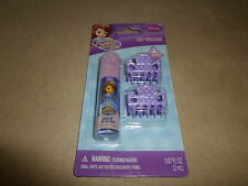 .07 Oz. Disney Sophia The First Grape Flavored Lip Gloss & Clips, NEW IN PACKAGE