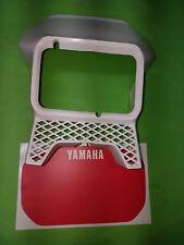 - Yamaha xt600 XT 1vj 2kf tenere Mascherina FARI FANALI maschera maschera BIANCO ROSSO