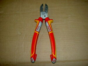 NWS VDE 6-in-1 Electrician's Multi-Function Side Cutter Pliers 1351-49-190