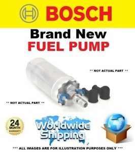 BOSCH FUEL PUMP for FORD ESCORT IV Convertible 1.6 XR3i 1986-1990