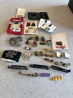 Massive US Military Pin Collection 43 Pieces Total