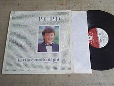 Pupo - La vita è molto di più - LP
