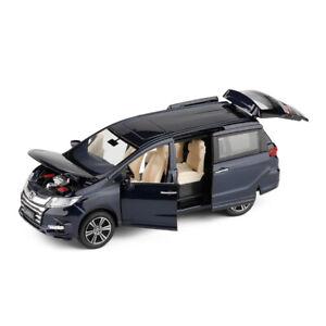 1/32 Scale Honda Odyssey MPV Model Car Toy Collection Sound Light Kids Gift