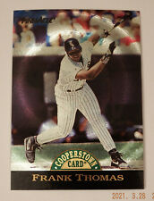 New listing 1993 Pinnacle Cooperstown Dufex #24 Frank Thomas SET BREAK MINT or GEM MINT!