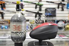 Dye Rotor LTR Paintball Loader Black/Red + Empire 68ci/4500psi Carbon Fiber Tank