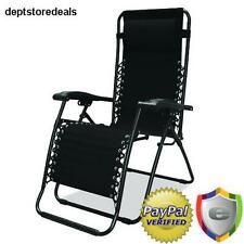 Zero Gravity Folding Comfortable Recliner Chair Oversize Outdoor Patio Pool Tip