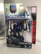 Transformers Titans Return Triggerhappy & Blowpipe MISB MOC