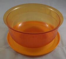 Tupperware C 24 große Tafelperle Schüssel 3,5 l Orange Transparent Neu OVP