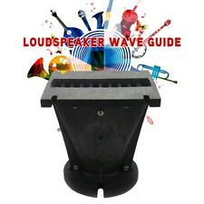 Line Array Speaker Parts Horn Wave Guide 1 Inch Throat For DJ Home Theater