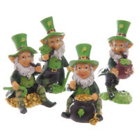 Lucky Irish Leprechaun Figure  Figurine Home Garden Statue Ornament