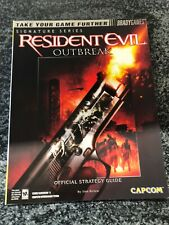Resident Evil Outbreak / Strategy Guide / BradyGames / Perfect Condition